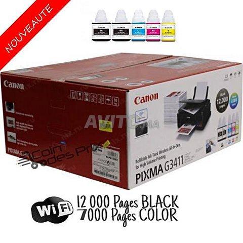 imprimante multifonction Canon G3411 Wi-Fi - 4