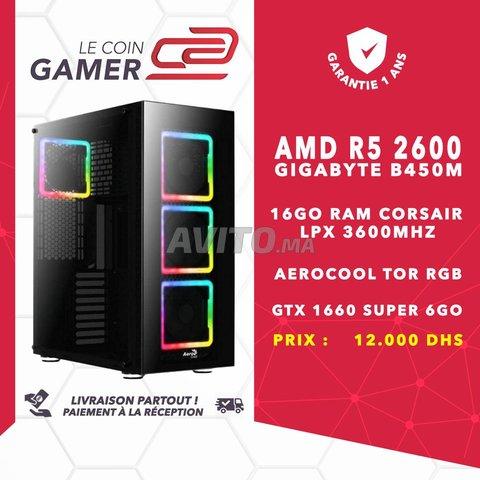PC Gamer R5 2600/ 16GO RAM 3600Mhz/ GTX 1660S - 1