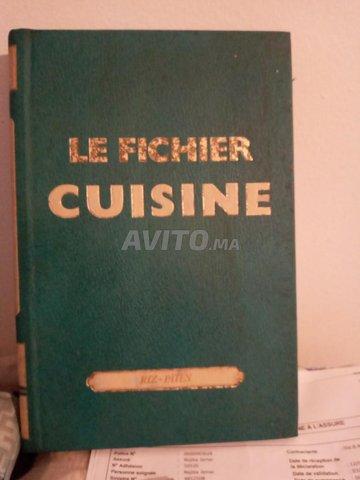 fichiers de cuisine a vendre  - 1