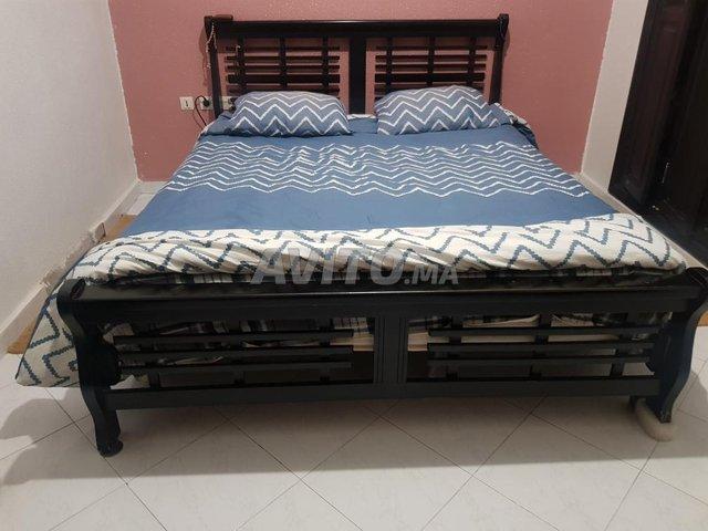 chambre à coucher bois massif - 1