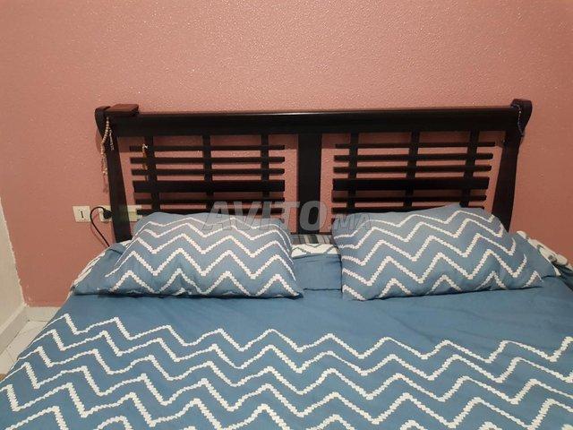 chambre à coucher bois massif - 3