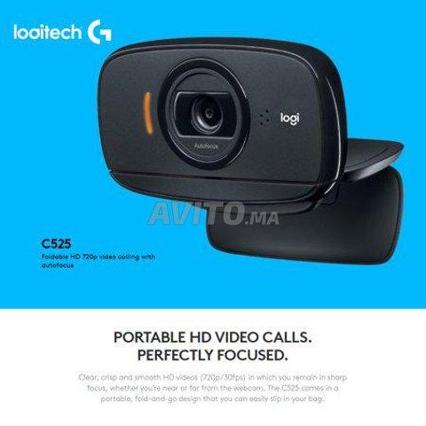 WebCam C525 Logitech Caméra pliable HD 720p - 5