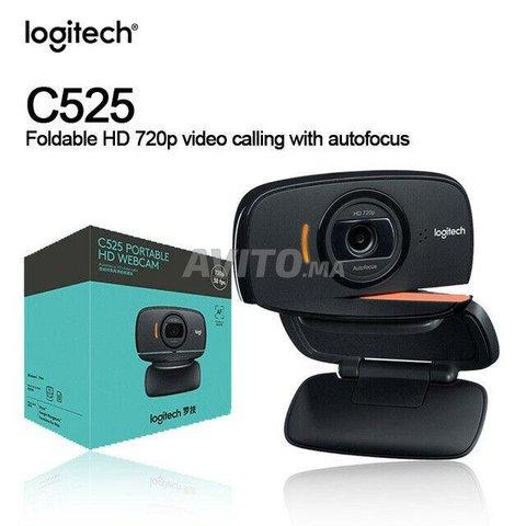 WebCam C525 Logitech Caméra pliable HD 720p - 1