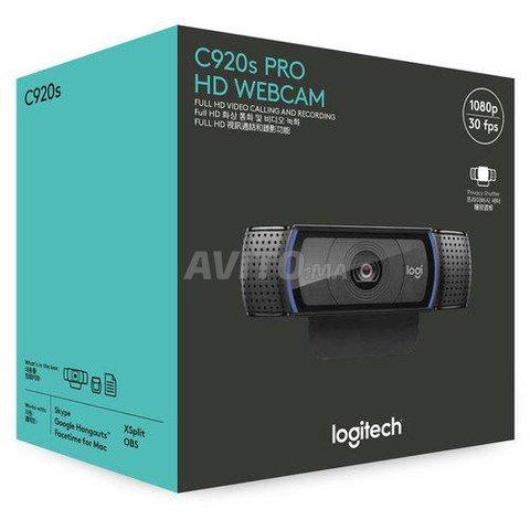 WebCam C920s Pro Logitech Full HD 1080p - 5