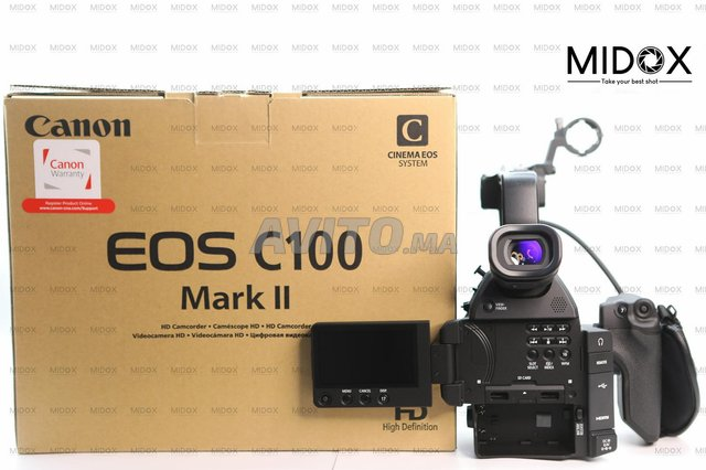 Canon C100 Mark Neuf MAGASIN Midox SHOP - 3