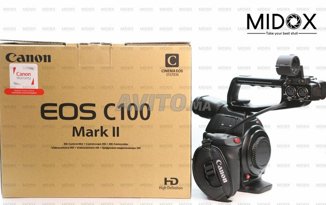 Canon C100 Mark Neuf MAGASIN Midox SHOP - 2