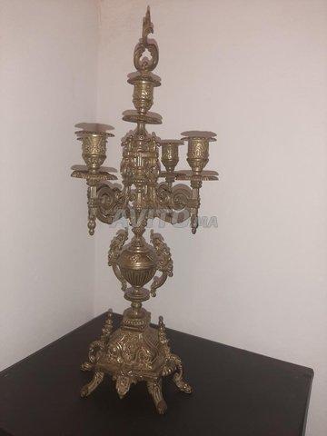 Bougeoir chandelier (HASKA)  5 branches   - 1