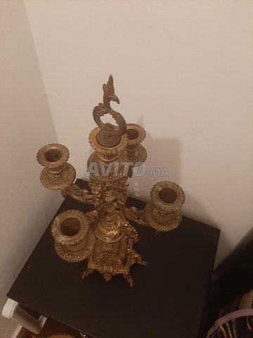 Bougeoir chandelier (HASKA)  5 branches   - 2