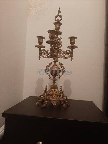 Bougeoir chandelier (HASKA)  5 branches   - 5