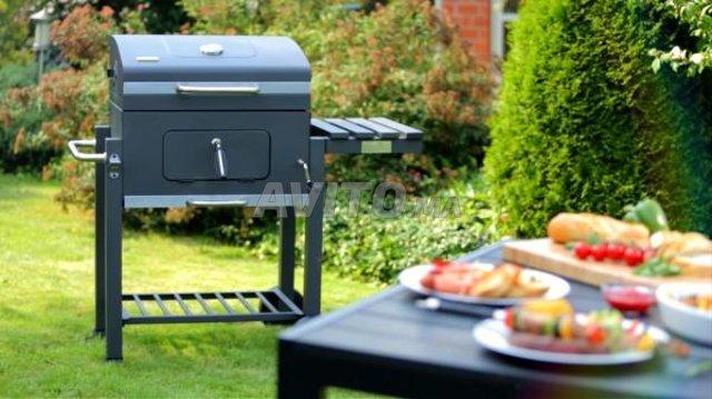 Luxe Barbecue à charbon De Jardin - 6