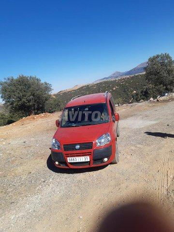 Voiture Fiat Doblo 2012 au Maroc  Diesel  - 5 chevaux