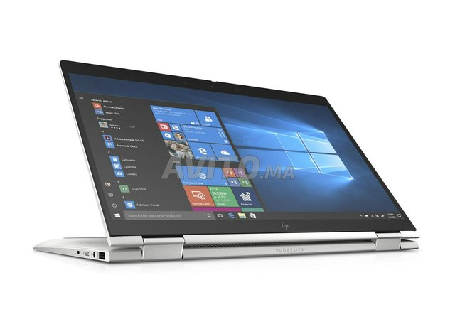 Hp Elitebook X360 1040 G6 2 in 1-14p FHD i7-Argent - 1