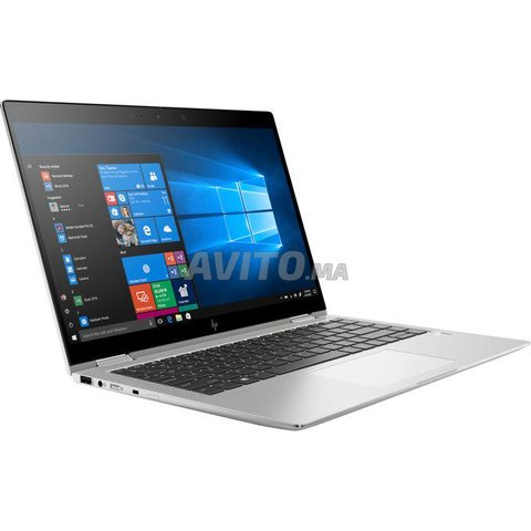 Hp Elitebook X360 1040 G6 2 in 1-14p FHD i7-Argent - 4