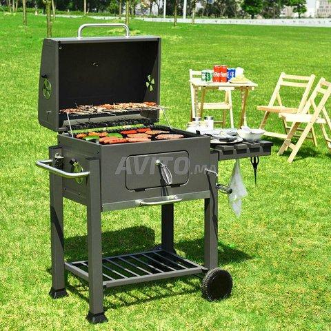 Backyard Grill Trolley - 2