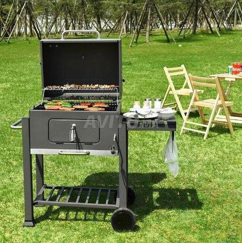 Backyard Grill Trolley - 1