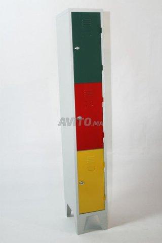 Vestiaire 1 2 3 4 portes en promotion  - 5