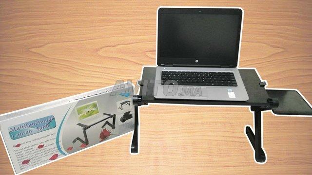 TABLE DE PC PORTABLE PLIABLE - 1
