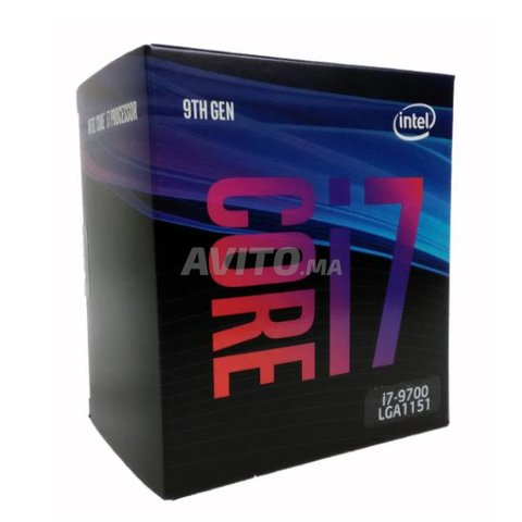 i7-9700 LGA1151 Processor NEUF - 4