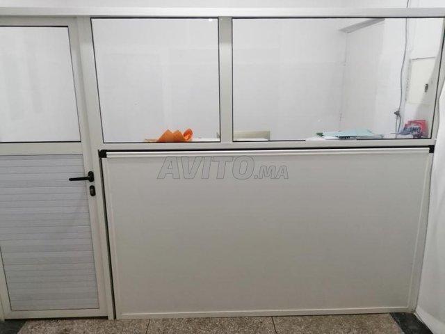 vitrine et comptoire aluminium  - 2