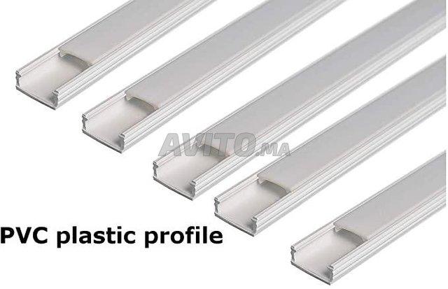 Profilé LED aluminium encastrable  - 3