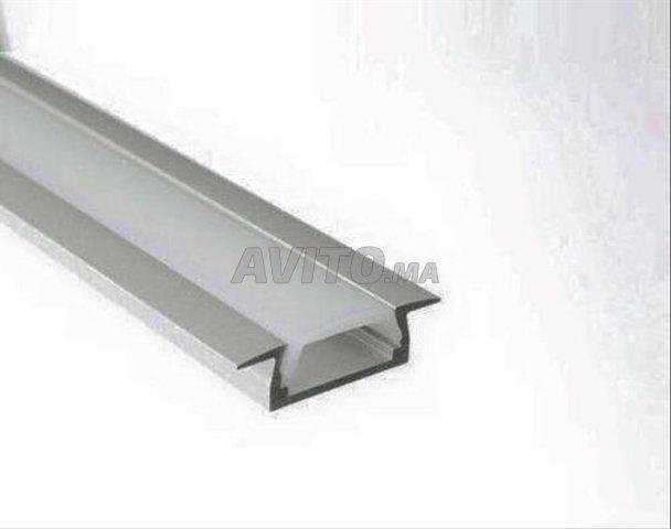 Profilé LED aluminium encastrable  - 4