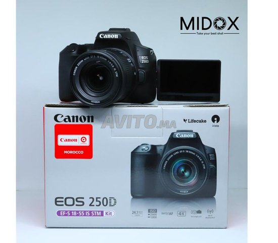 Canon 250D et 18-55mm is STM Neuf MAGASIN Midox - 3