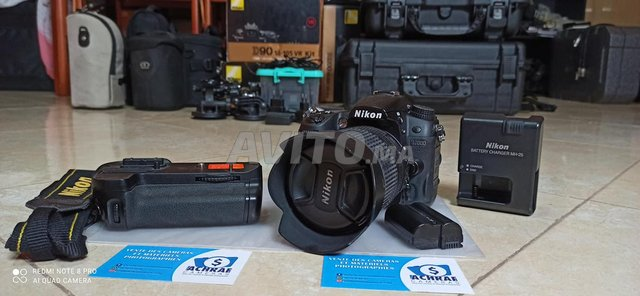 Nikon D7000 Boster Grip et 18-105vr import Germany - 6