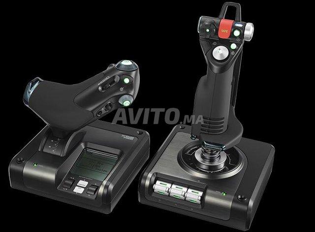 Logitech G Saitek X52 Pro Flight Control System - 1