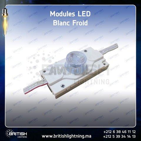 Blanc 1LED/mod Bombie 12V 1.5W - 2