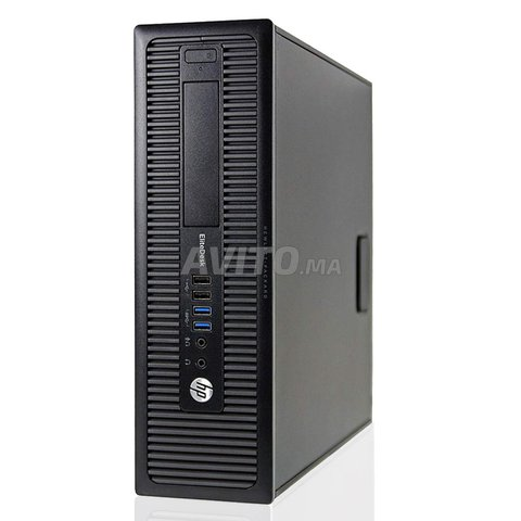 hp elitedesk 800 G1 i5-4590 3.30 8RAM 500GB  - 1