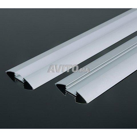 Profilé LED aluminium encastrable  - 8