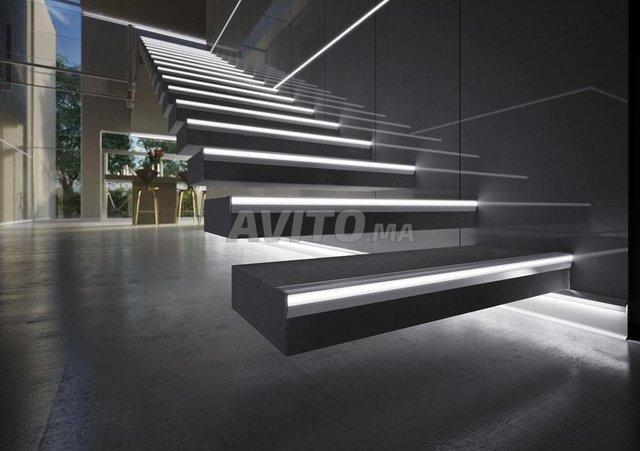 Profilé LED aluminium encastrable  - 6