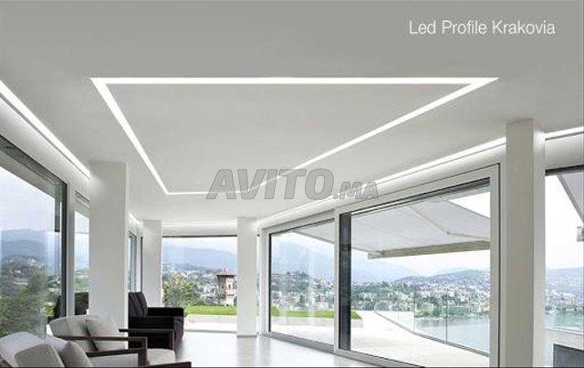 Profilé LED aluminium encastrable  - 7