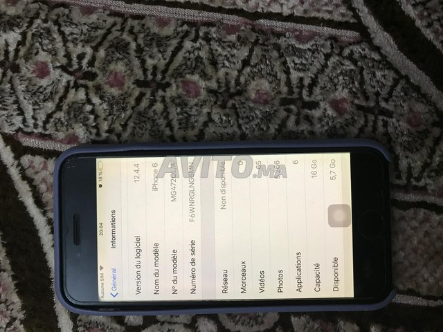 Iphone 6  16 go - 4