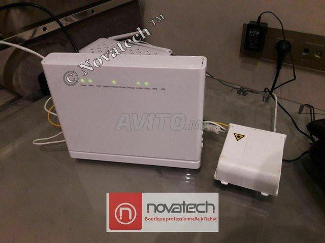 Routeur ZTE fibre optique Wifi Bi-Bande AC1750Mb/s - 1
