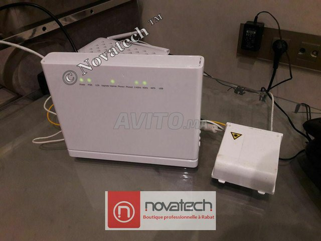 Routeur ZTE fibre optique Wifi Bi-Bande AC1750Mb/s - 2