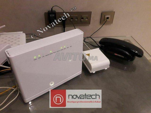 Routeur ZTE fibre optique Wifi Bi-Bande AC1750Mb/s - 4