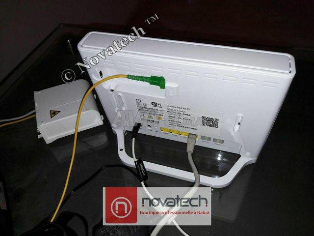 Routeur ZTE fibre optique Wifi Bi-Bande AC1750Mb/s - 5