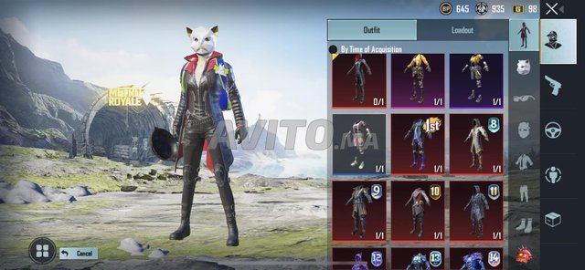 Compte pubg full skins from s2 - 5