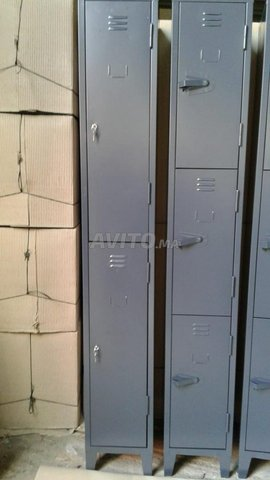 vestiaires métallique réf102 à Aïn Sebaâ  à Aïn Se - 2