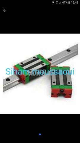 Wvhdhfjq*** CNC rail **guidage linéaire - 1