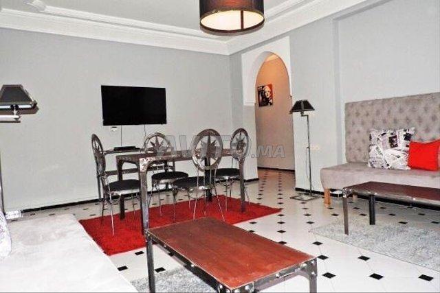 Appartement 3ch avec grande terrasse centre Guéliz - 1