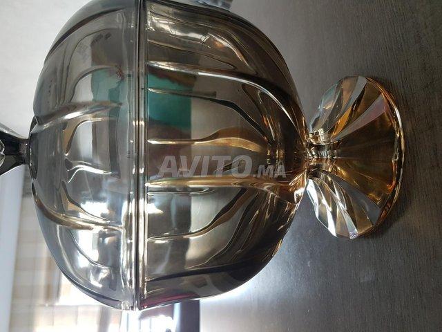 Bonbonnière en cristal neuve - 2