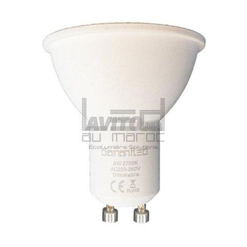 Ampoule GU10 6W  220V à Rabat  à Rabat  - 2