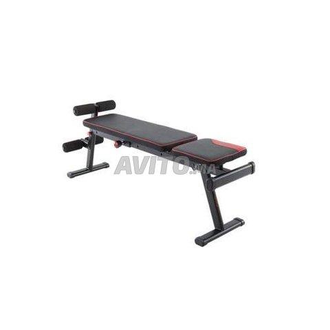 Banc De Musculation  Pliable Et Inclinable - 1