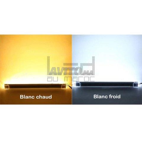 Barre LED rigide 5630 Double 168LEDm Réf 1AWGJ  à  - 3