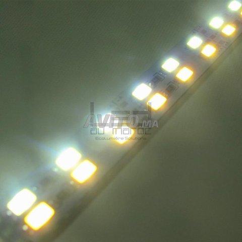 Barre LED rigide 5630 double couleur 144LED/M à Ma - 3
