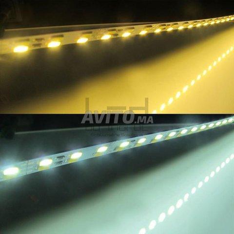 Barre LED rigide 5630 double couleur 144LED/M à Ma - 4