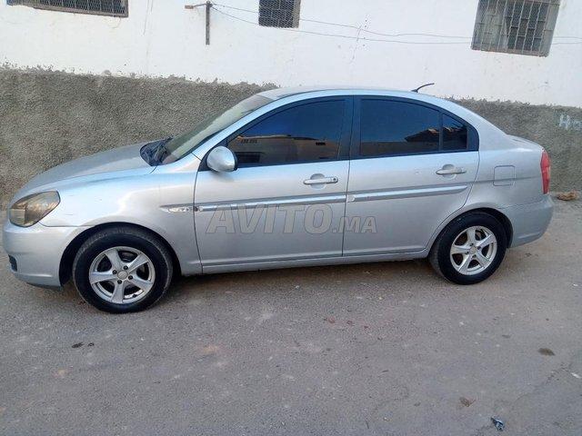 Voiture Hyundai Accent 2008 au Maroc  Diesel  - 6 chevaux