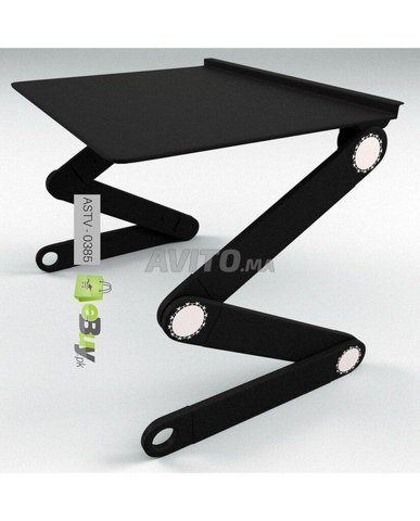 Table Pliante De PC Portable Multifuctional - 3